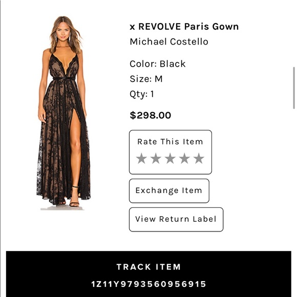 Michael Costello Dresses & Skirts - Michael Costello X Revolve Paris Gown